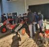 소동락 곡성귀농학교, 농기계 이론 및 실습교육 엄지척