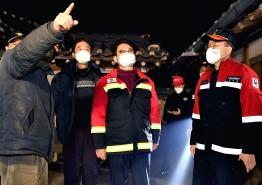 건조한 날씨속 안동, 영주․예천지역 산불발생