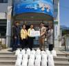 한화생명 동광양지점 강병호지점장, 쌀 10kg 20포 기부