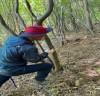광양시, 반달가슴곰 서식환경 보호를 위한 불법엽구 수거 활동